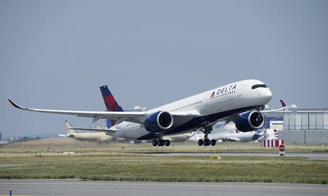 델타항공 사진